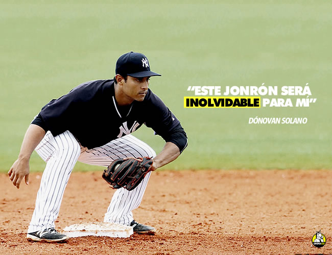 Dónovan es el primer colombiano en jugar en los New York Yankees | Cortesía