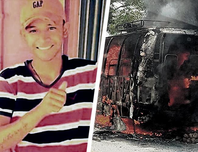 Luis David Vitola es la segunda persona que muere por este trágico hecho.   AL DÍA