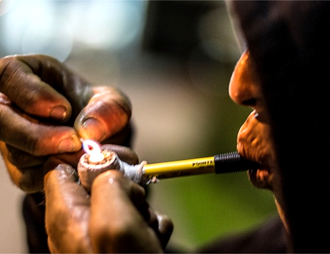 La Policía Metropolitana de Barranquilla tiene identificadas 167 'ollas' donde expenden drogas, en las cuales nacen gran parte de los problemas de violencia de la ciudad. | Foto: Archivo
