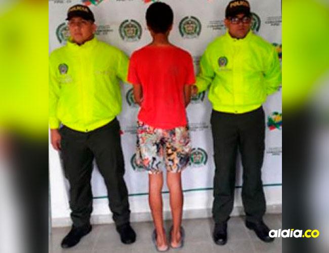 Yony Alexánder Meneses Ospin, de 21 años, confesó el delito y fue arrestado por las autoridades