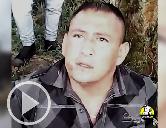 La revista cita un fragmento de lo que habría sido el resto del video, cuando alias 'Alexis' enumera las razones del asesinato. | ALDIA.CO