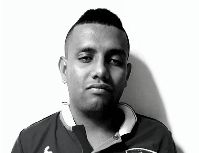 Holman Rámirez Marín es conocido como 'el Pirata'   Foto: El Heraldo