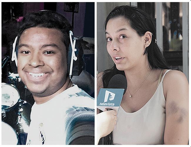 Iván Moisés Castro Vega, denunciado por violencia. Adriana Marcela Eljach Polo, de 27 años, denunciante. | Foto: Archivo