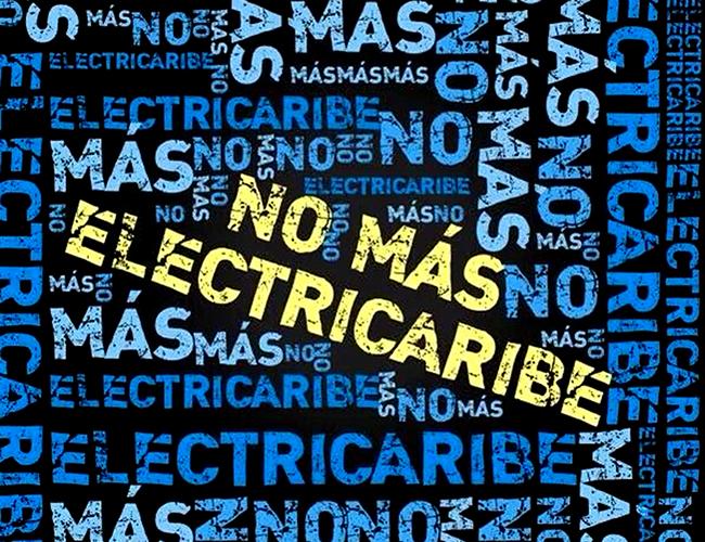 Los usuarios no aguantan más y piden el cambio de la empresa de energía.   Foto: @BarranquillaBAQ