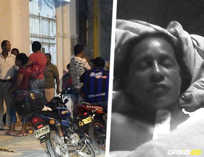 Familiares de las mujeres baleadas en La Luz llegaron al Hospital de Barranquilla el sábado en la noche | Al Día