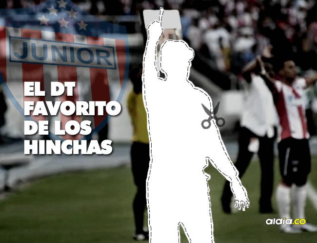 Voten por el que consideren debe ser el próximo DT del Junior de Barranquilla.