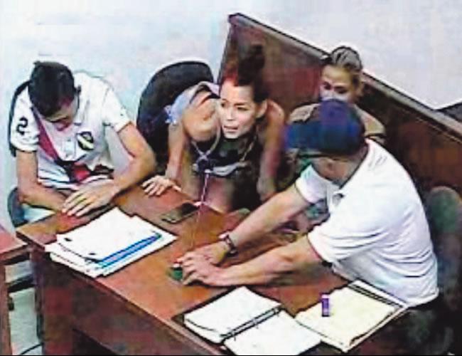 Momento en que Dori Luz Hernández Peña acepta cargos por hurto calificado agravado   Foto: Captura de pantalla