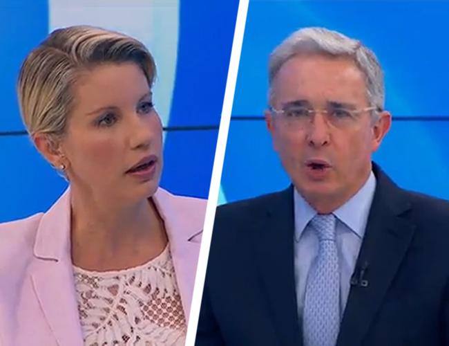 Gurisatti intentó que el expresidente explicara sus propuestas para mejorar el acuerdo. | RCN