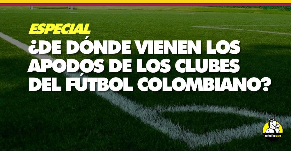 Cuál es el origen de los apodos de los clubes del fútbol