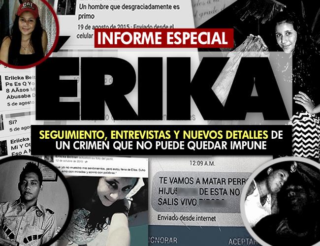 La extraña actividad de Érika Beltrán, las versiones encontradas de amigos y familiares, y presuntos abusos sexuales previos, hacen aún más inquietante el caso. | Portada: ALDÍA.CO