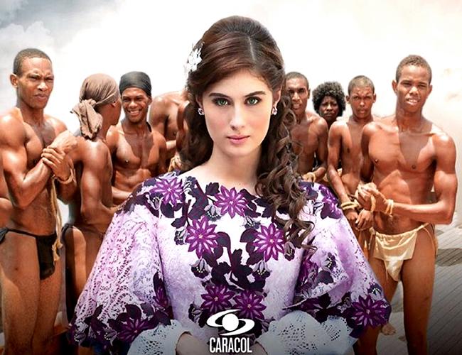 La hermosa española Nerea Camacho es quien le da vida a 'La Esclava Blanca' del Canal Caracol. | Foto: Instagram