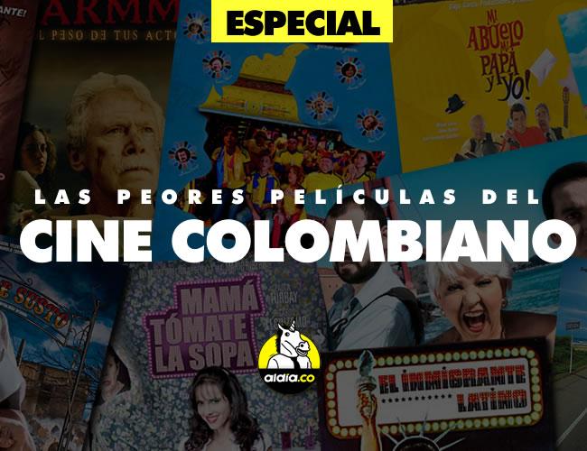 Hay de todo en el cine colombiano, buenas, malas y pésimas. Esta es nuestra selección | Foto: Al Día