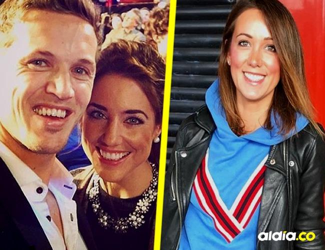 Jake y Emmy (izquierda) y la novia actual de Jake (derecha) | Tomada de: Instagram.