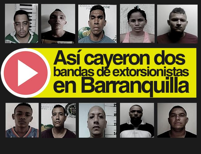 Luego de aterrorizar a la víctima buscaban mecanismos para recoger la plata de manera personalizada. Delinquían en Cartagena y Barranquilla. | ALDIA.CO