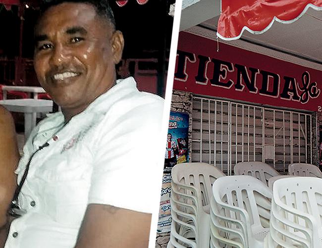 En la Tienda La 10, situada en la calle 10 No. 28 - 35, barrio Rebolo, suroriente de Barranquilla, ocurrió el homicidio del tendero Will Bolaños. | AL DÍA