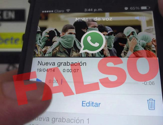 No crean en las cadenas de WhatsApp que afirman que hay 'plan pistola' en la ciudad de Barranquilla - ALDIA.CO