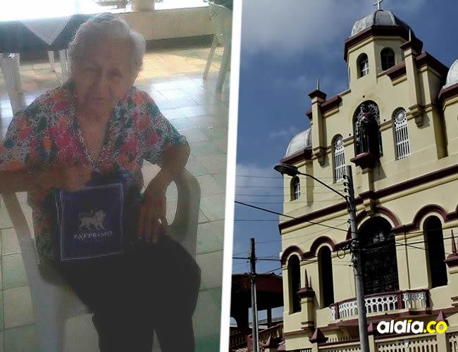 Beatriz Palencia, de 87 años, vivió en el asilo San Antonio. Familiares denunciaron que había sido empalada | Archivo