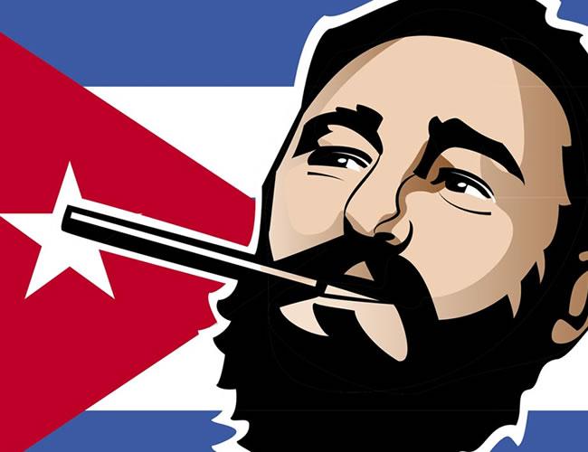 Uno de los rasgos más destacables de Fidel es su nacionalismo, que lo llevó a desafiar a su poderoso vecino del norte, Estados Unidos. | Vecteesy