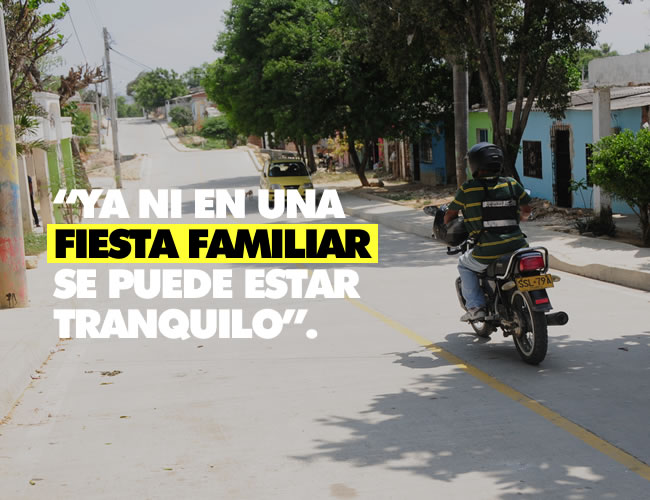 En el suroccidente de Barranquilla se registró el hecho en el que resultó herido Hernando Villanueva. |