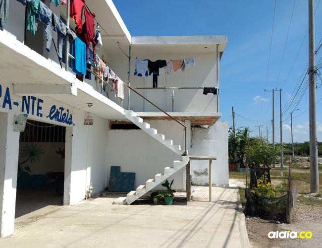 En una de las habitaciones de esta casa fue asesinado Camilo Restrepo.