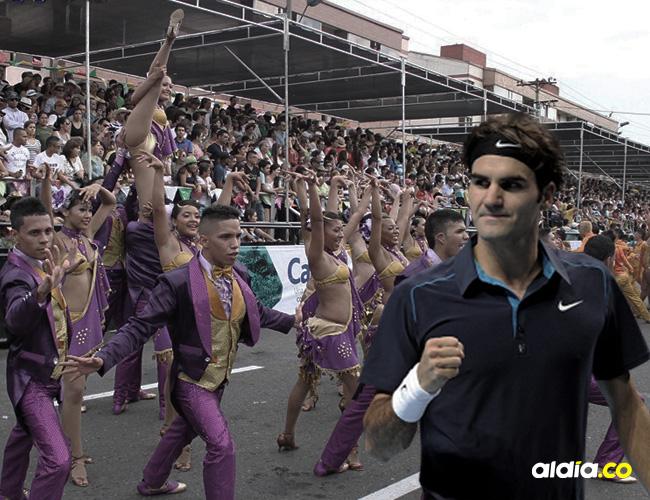 ¿Federer se quería gozar el salsódromo? No,  fue un error de un CM | ALDÍA.CO