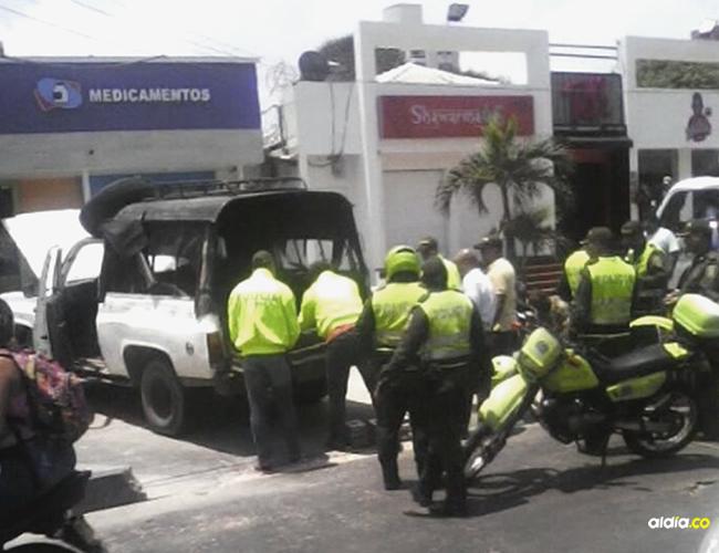 El procedimiento llamó la atención de los ciudadanos que transitaba por el sector | Al Día