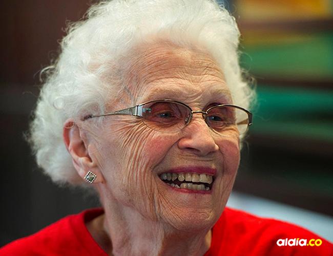Loraine Maurer, de 94 años, es la empleada más longeva de McDonald's | Cortesía