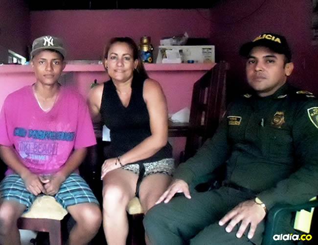Jorge Millán es un padre de familia que acompaña a su hijo en este programa de rehabilitación desarrollado por el sargento Joelmi Saavedra | Al Día
