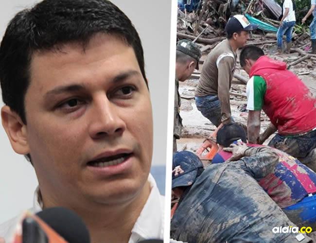 Desde Montería, el senador dice que se investiguen causas de la tragedia en Mocoa | Cortesía