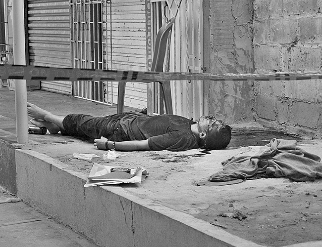 Santiago Medina Gleiner murió de manera instantánea como consecuencia de los cuatro tiros que le dieron en la cabeza. | Foto: Archivo
