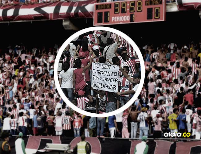 Lo que ha pasado durante el partido Junior 2 x Alianza 0 no se puede dejar echado en el bolso del olvido.   ALDIA.CO