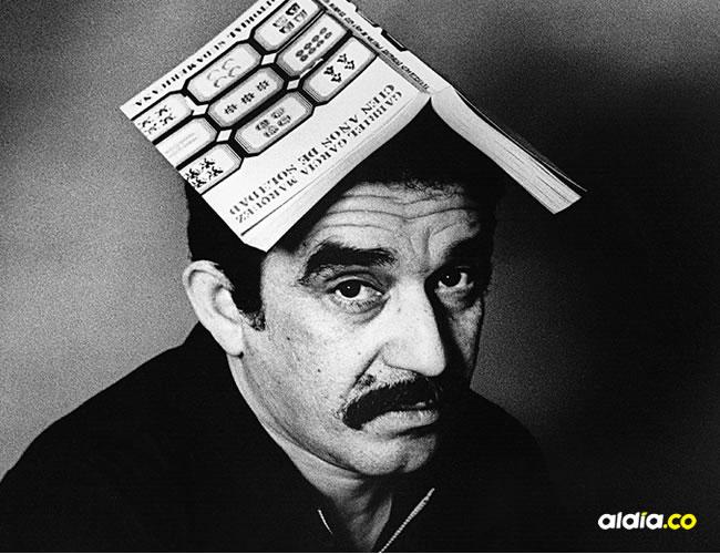 Una de las fotos más icónicas de Gabriel García Márquez  | Archivo