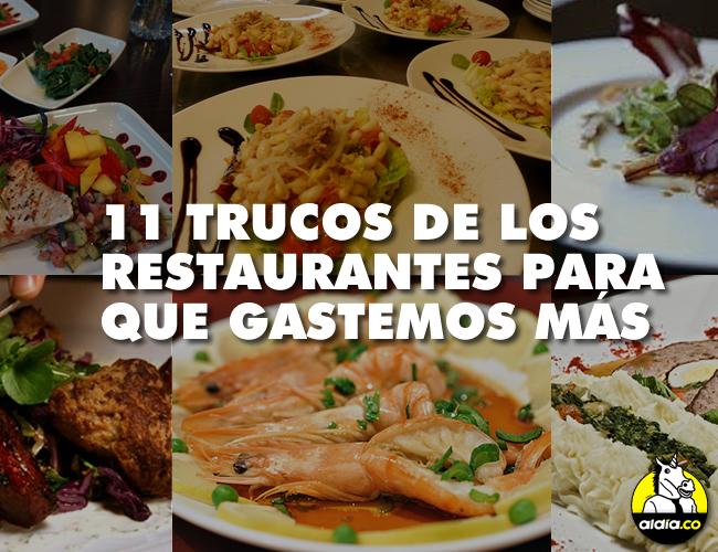 Desde el Neuromarketing los restaurantes realizan distintas prácticas para que consumamos lo que ellos desean. | Foto: ALDÍA.CO