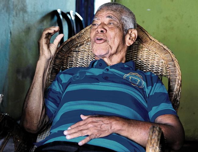 Gil Altamar aún saca fuerzas para lanzar su grito de batalla | Foto: Jesús Rico