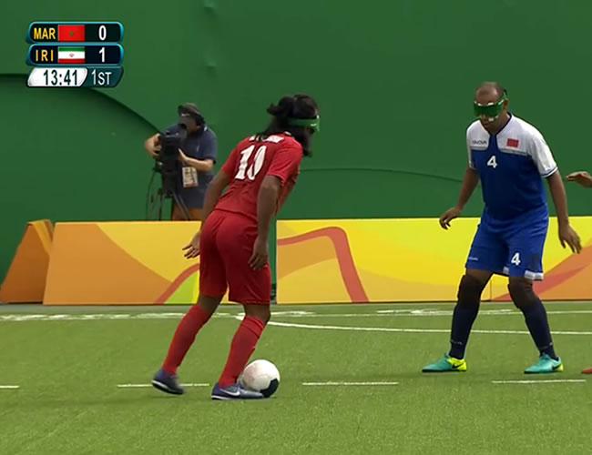 Zadaliasghari tomó el balón cerca al centro del campo y avanzó entre sus rivales para perfilarse de cara al arco de Samir Bara. La jugada terminó con un remate cruzado y la conmovedora celebración del guía del equipo. | AL DÍA