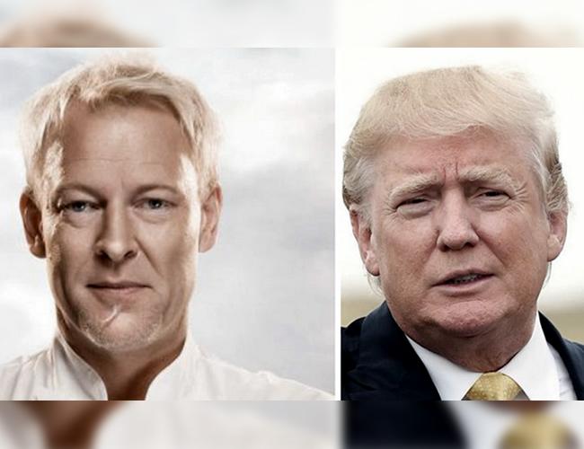 El chef Anders Vendel fue comparado con el presidente electo de los Estados Unidos, Donald Trump. | Guioteca.com