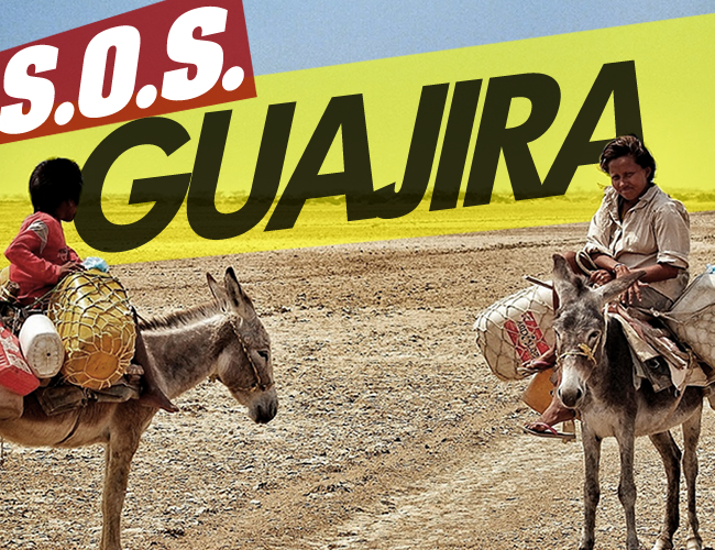 La crisis por desnutrición en el departamento de La Guajira es cada vez más fuerte. Seis niños han muerto en lo que va corrido del presente año por causas relacionadas con desnutrición | Foto: La Chachara