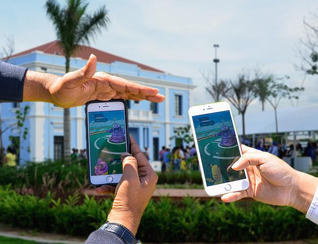 Una de las principales y mejores características de Pokémon Go es la inclusión de la realidad aumentada. | Foto: ALDIA.CO