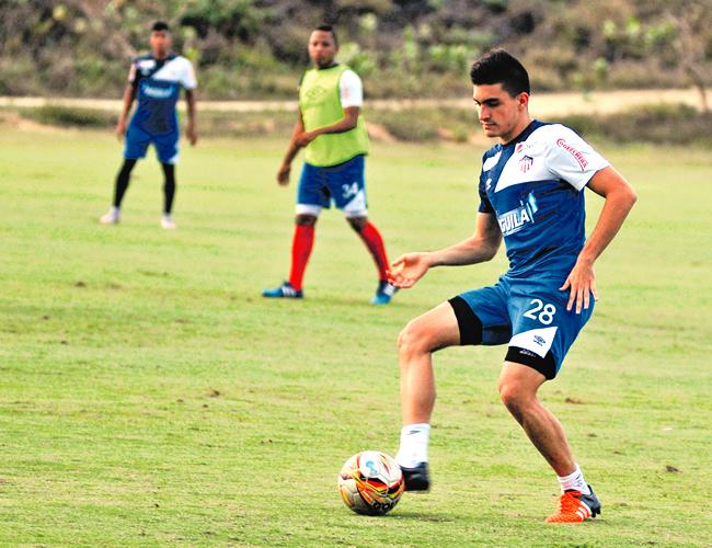 Guillermo Celis se encuentra en la concentración de la Selección Colombia Sub-23.   Foto: Archivo