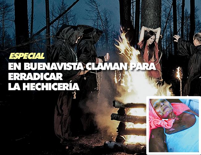 Rosario María Acuña Campo se quemo en medio de un exorcismo que le estaban haciendo para sacar un espíritu maligno de su ser. | Foto: ALDIA.CO