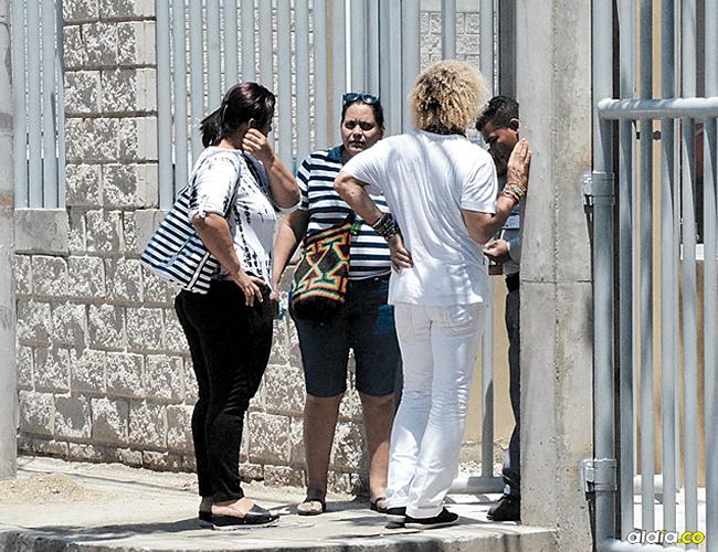 El Pibe en las instalaciones de Medicina Legal en Santa Marta. | AL DÍA