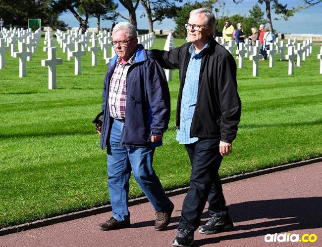 André Gantois, de 72 años, y Allen Henderson, de 64.