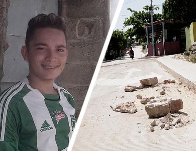 l cobradiario fue asesinado en este lugar, calle 71 con carrera 11, barrio 7 de Abril | Foto: Al Día