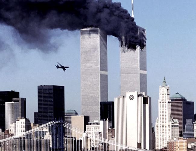 El gobierno de EE. UU. acusó a Bin Laden de ordenar los ataques   aereo