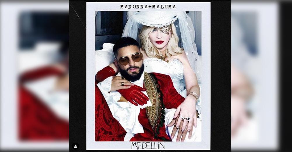 Madonna lanzará canción con Maluma
