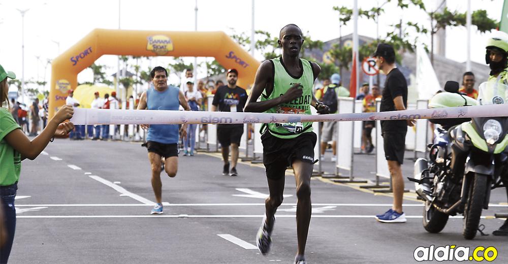 Kenia arrasó en media maratón de barranquilla