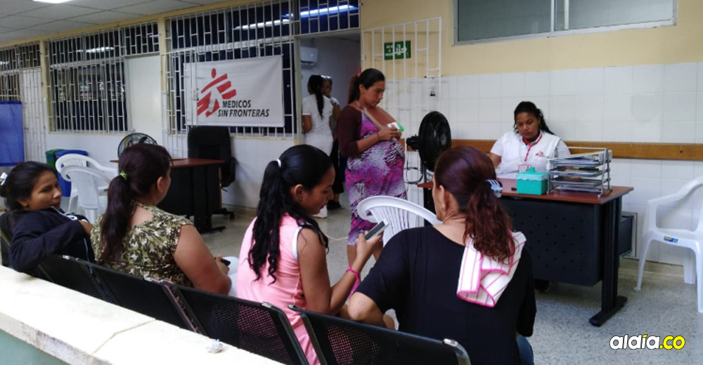 Médicos sin Fronteras atiende migrantes en hospital de Riohacha