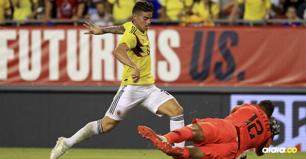 A punta de gol, Colombia aprobó examen ante EE. UU