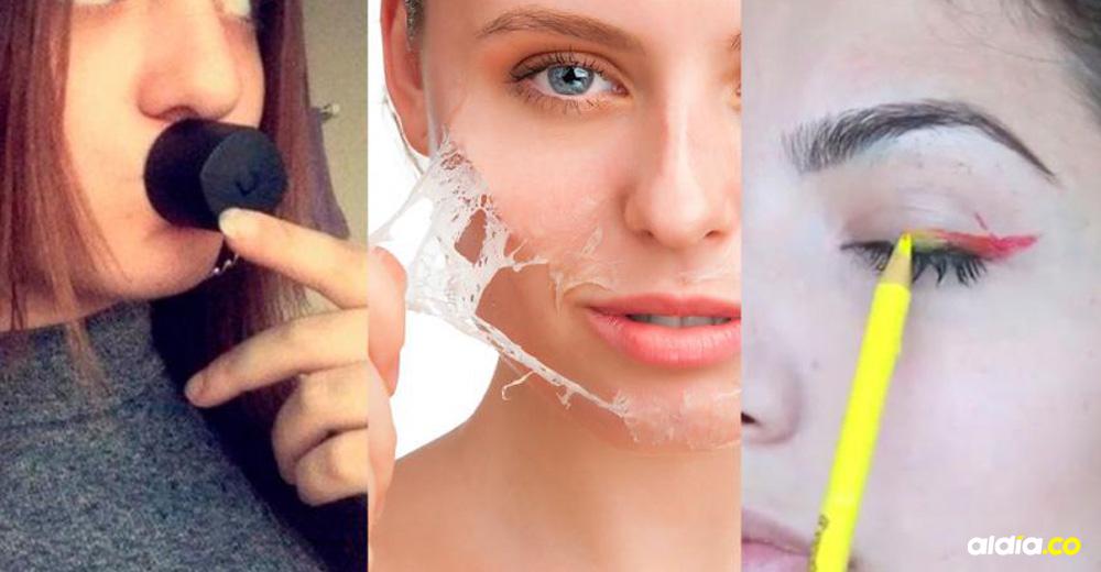 Trucos de belleza virales y peligrosos