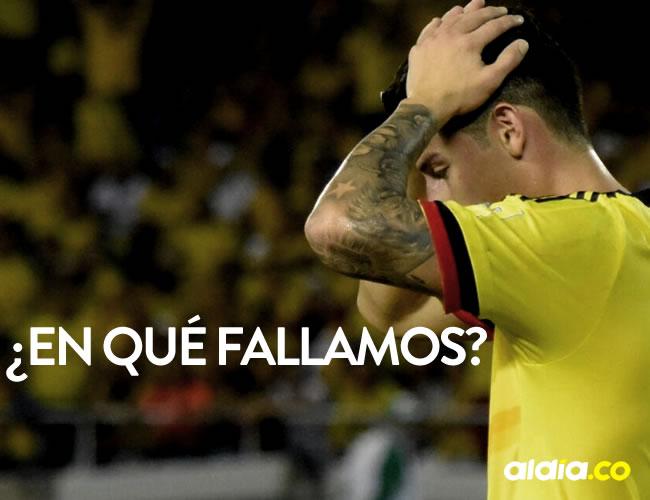 James Rodríguez fue uno de los culpables de la derrota frente a Paraguay   El Heraldo